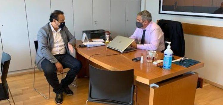 Συνάντηση του βουλευτή Φλώρινας Γ. Αντωνιάδη με τον Κωστή Μουσουρούλη