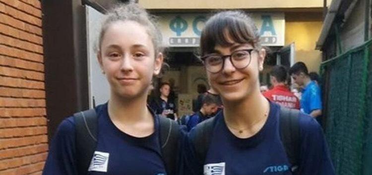 Ελπιδοφόρες εμφανίσεις για Φωτιάδου και Άμπα στην Τσεχία