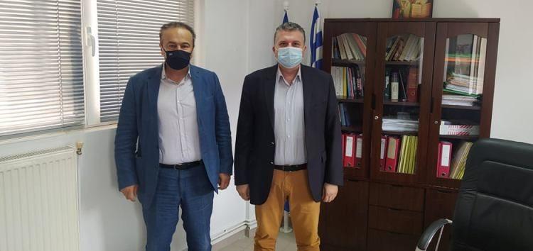 Ο βουλευτής Γιάννης Αντωνιάδης επισκέφτηκε την τοπική διεύθυνση e-ΕΦΚΑ