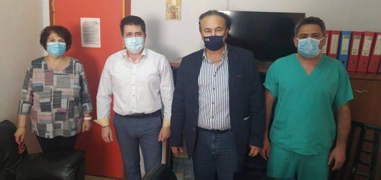 Επίσκεψη του βουλευτή Γιάννη Αντωνιάδη στο Νοσοκομείο Φλώρινας – Συζήτηση για τους εμβολιασμούς και τις ελλείψεις σε προσωπικό