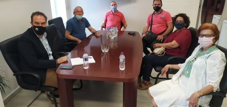 Συνάντηση του Δημάρχου Φλώρινας με το Δ.Σ. του Συλλόγου Κιουταχειωτών Μικρασιατών Φλώρινας