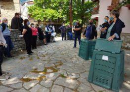 Εκδηλώσεις για την παραλαβή κάδων οικιακής κομποστοποίησης στις Κοινότητες Βαρικού, Λεχόβου και Λεβαίας του Δήμου Αμυνταίου (pics)