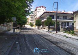 Συνεχίζονται οι ασφαλτοστρώσεις οδών στην πόλη της Φλώρινας