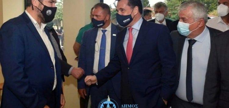 Στη Μεγαλόπολη ο Δήμαρχος Φλώρινας κ. Βασίλης Γιαννάκης για την έναρξη κατασκευής του δικτύου φυσικού αερίου