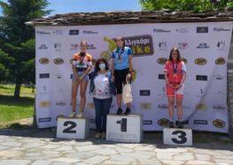 1η θέση για την Γεωργία Δούκα του ΣΟΧ στον Διασυλλογικό Αγώνα Ορεινής Ποδηλασίας Αλιγκάρι Bike Πάικου