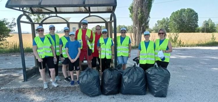 Σε δράση καθαρισμού της κοινότητας Τριποτάμου το Γραφείο Εθελοντισμού Δήμου Φλώρινας (pics)