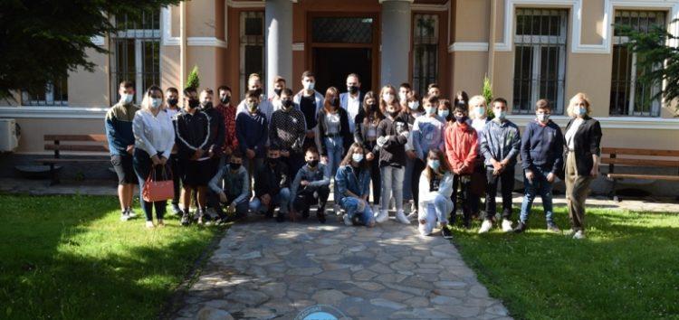 Επίσκεψη μαθητών και μαθητριών του Γυμνασίου Βεύης στον Δήμο Φλώρινας (pics)