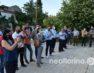 Η συγκέντρωση διαμαρτυρίας του Εργατικού Κέντρου Φλώρινας κατά του εργασιακού νομοσχεδίου (video, pics)