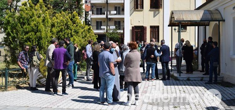 To δικαστήριο ανακάλεσε την παύση εργασιών στο υπό κατασκευή αιολικό πάρκο του Νυμφαίου