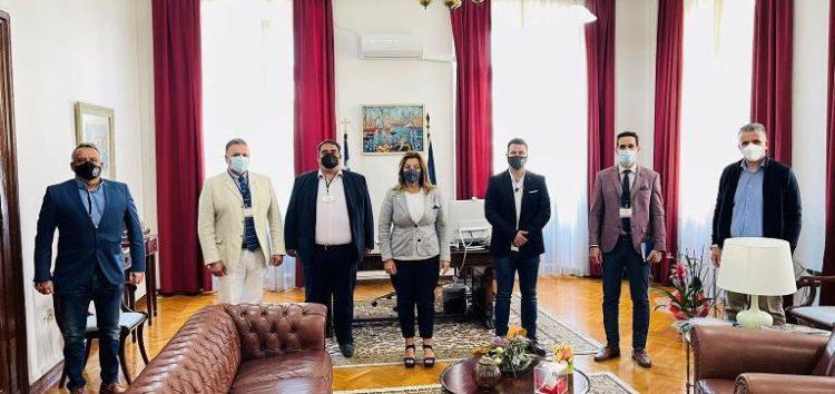 Συνάντηση των Ενώσεων Αστυνομικών Υπαλλήλων Θεσπρωτίας, Ιωαννίνων, Καστοριάς, Κέρκυρας και Φλώρινας με την επικεφαλής του γραφείου του Πρωθυπουργού στη Θεσσαλονίκη