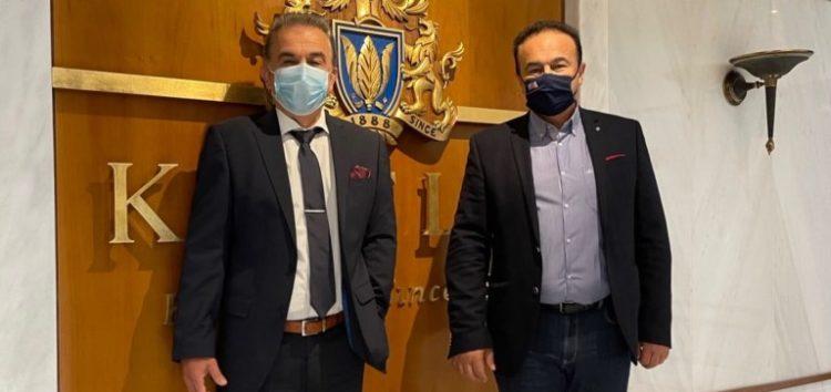 Επίσκεψη του βουλευτή Φλώρινας Γ. Αντωνιάδη στην καπνοβιομηχανία «Καρέλιας»