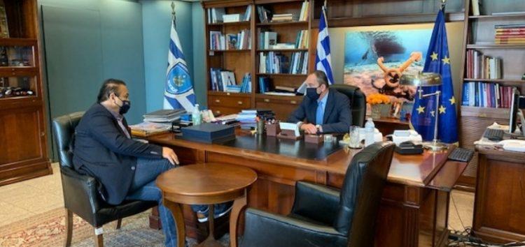 Συνάντηση του Γ. Αντωνιάδη με την ηγεσία του Υπ. Ναυτιλίας και Νησιωτικής Πολιτικής
