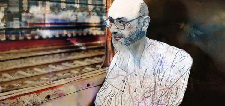 Ο συγγραφέας Ισίδωρος Ζουργός «συναντά» στο τρένο για τη Φλώρινα τον Θόδωρο Αγγελόπουλο