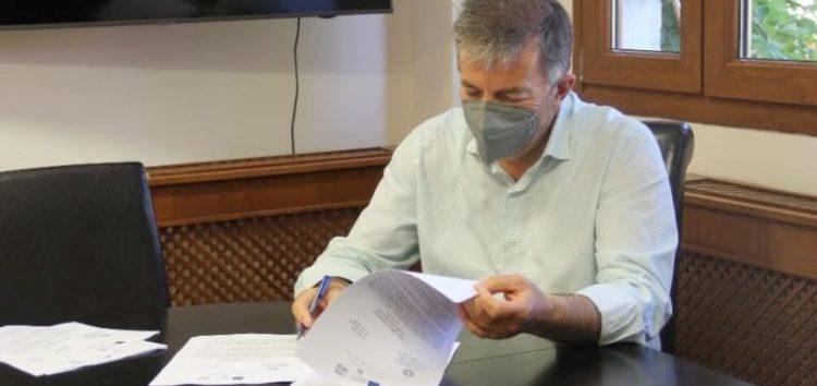 Υπεγράφη η σύμβαση του έργου «Αποκατάσταση πλακόστρωτων & λιθόστρωτων δημοτικών οδών οικισμών Δήμου Αμυνταίου»