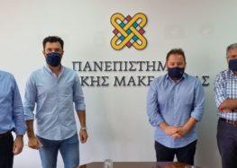 Συνάντηση Ομίλου Ενεργών Νέων Φλώρινας και Πρυτανικών Αρχών Πανεπιστημίου Δυτικής Μακεδονίας