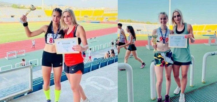 Πρωταθλήτριες Ελλάδος η Μαρία Μπέλλη και η Αγγελική Σαϊλάκη του Α.Σ. Σπάρτακος Φλώρινας (videos, pics)