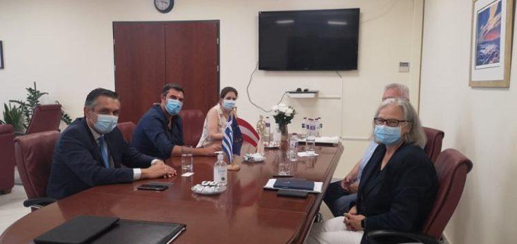 Συνάντηση του Περιφερειάρχη Δυτικής Μακεδονίας με την Πρέσβη της Αυστρίας στην Αθήνα