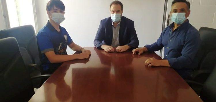 Ο Δήμαρχος Φλώρινας συνεχάρη τους αθλητές σκοποβολής Βασίλη και Ηλία Μούλελη για τις πρόσφατες διακρίσεις τους (pics)