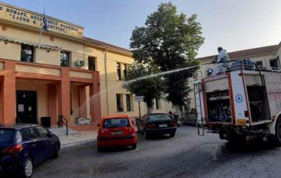 Απολυμάνσεις εξωτερικών κοινόχρηστων χώρων στην πόλη της Φλώρινας και σε όλες τις κοινότητες (pics)