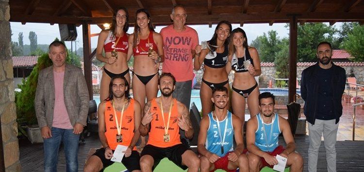 Ολοκληρώθηκε με επιτυχία το 1ο τουρνουά beach volley «Florina Open» (pics)