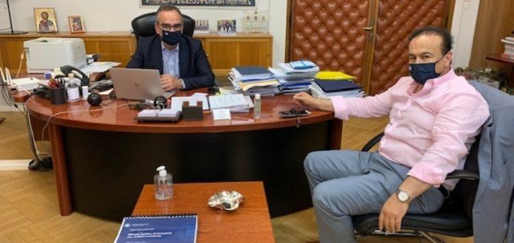 Συνάντηση του βουλευτή Φλώρινας Γ. Αντωνιάδη με τον αναπληρωτή υπουργό Υγείας Β. Κοντοζαμάνη για τη στελέχωση του ΕΚΑΒ