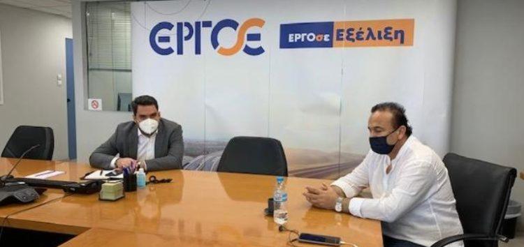 Συνάντηση του βουλευτή Φλώρινας Γ. Αντωνιάδη με τον διεύθυνοντα σύμβουλο της ΕΡΓΟΣΕ Χρ. Βίνη