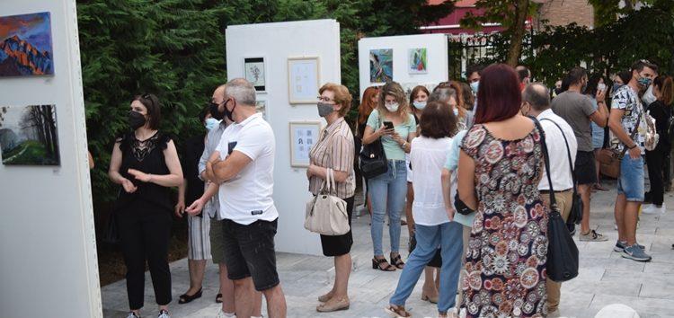 Τα εγκαίνια της έκθεσης Φλωρινιωτών καλλιτεχνών «CheapArt 2021» στο Μουσείο Σύγχρονης Τέχνης (pics)