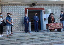 Σε Αγιασμούς σχολικών μονάδων ο Δήμαρχος Αμυνταίου Άνθιμος Μπιτάκης (pics)
