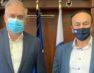 Συνάντηση Γ. Αντωνιάδη με το νέο υπουργό Προστασίας του Πολίτη Τ. Θεοδωρικάκο