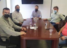 Συνάντηση της Διοίκησης του ΤΕΕ/ΤΔΜ με τον Δήμαρχο Φλώρινας