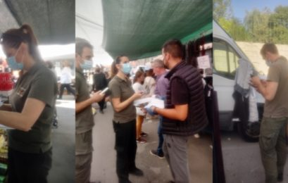 Έλεγχοι στις λαϊκές αγορές της Φλώρινας από τη Δημοτική Αστυνομία (pics)