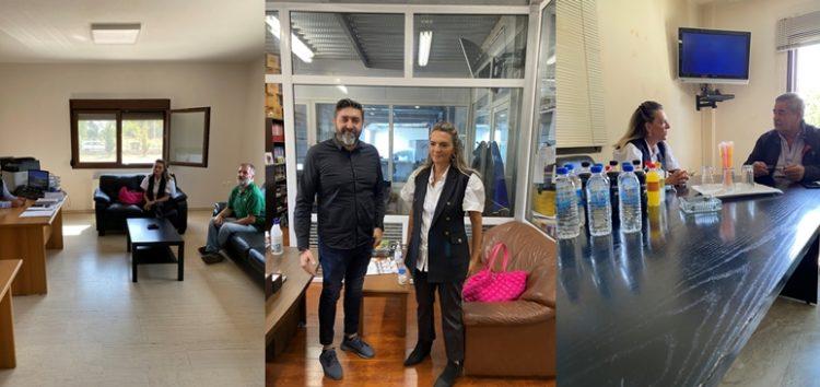 Επίσκεψη της Βουλευτή ΣΥΡΙΖΑ-ΠΣ Π. Πέρκα στην Βιομηχανική Περιοχή Φλώρινας