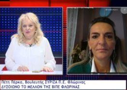 Π. Πέρκα: «Ο κ. Μητσοτάκης θα βρει μπροστά του όλη τη Δυτική Μακεδονία και την Μεγαλόπολη» (video)