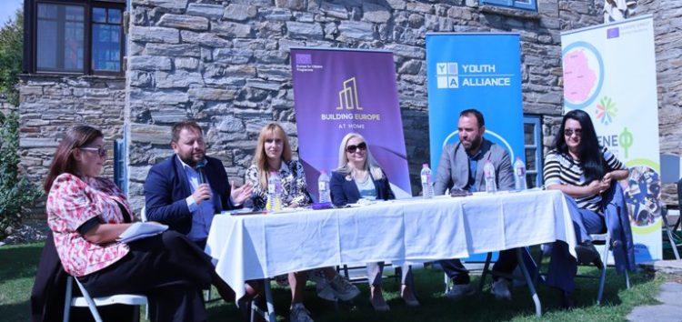 Συνάντηση στο Νυμφαίο φορέων και πολιτών των Δήμων Αμυνταίου και Karpos στο πλαίσιο του προγράμματος «Europe for Citizens»