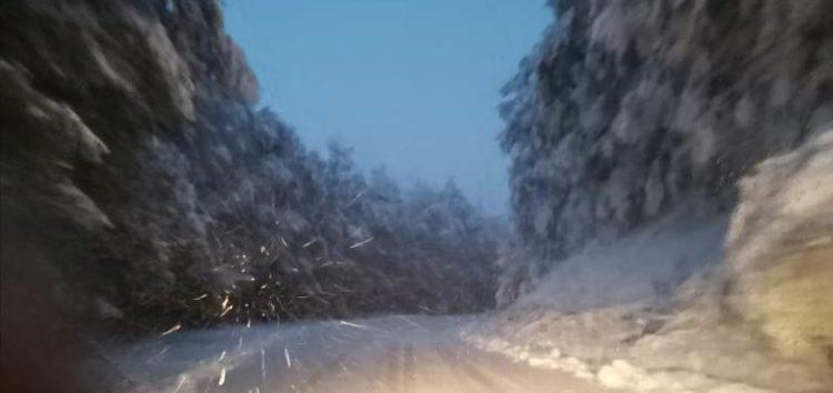 Στα λευκά «ντύθηκαν» οι ορεινές περιοχές της Φλώρινας (pics)