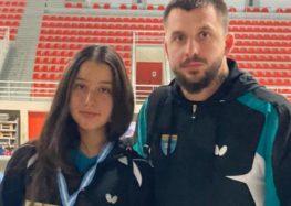 Το αργυρό μετάλλιο κατέκτησε η Αλεξία Μάλο στο Όπεν της Κοζάνης