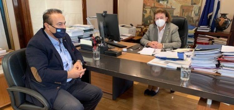 Συνάντηση του βουλευτή Γιάννη Αντωνιάδη με την υπουργό Πολιτισμού Λίνα Μενδώνη