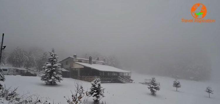Στα λευκά το Πισοδέρι και το Χιονοδρομικό Κέντρο Βίγλας (video)
